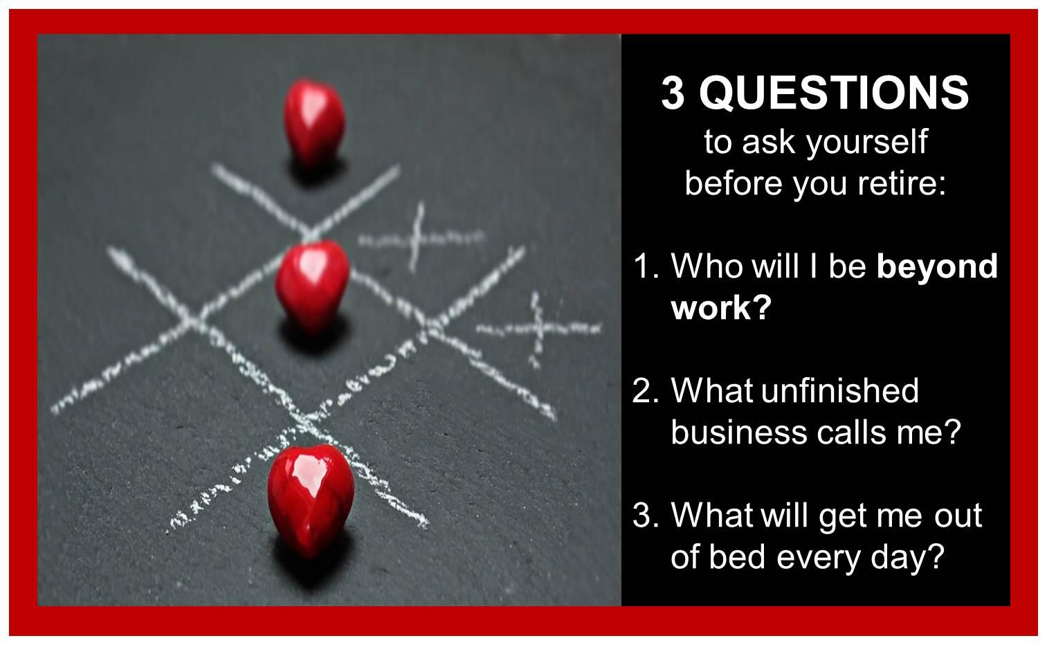 3 Questions Blog